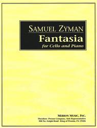 Fantasia for cello and piano: Cover Art