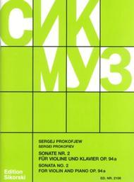 Sonata No. 2, Op. 94a