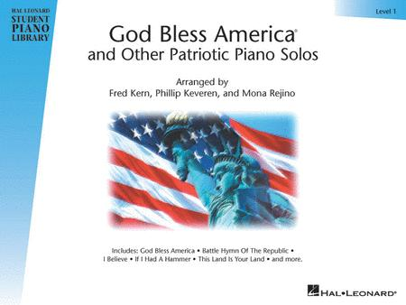 God Bless America and Other Patriotic Piano Solos - Level 1