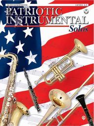Patriotic Instrument Solos Book/CD - Alto Sax