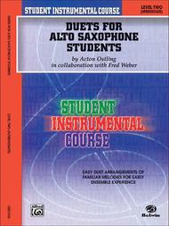Student Instrumental Course Duets for Alto Saxophone Students