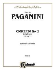 VIOLIN CONCERTO No. 2 in B Minor, Opus 7
