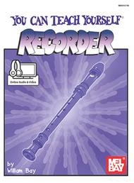 You Can Teach Yourself Recorder  - Book/CD