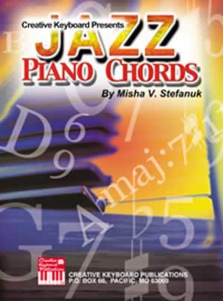 Jazz Piano Chords Sheet Music By Misha V Stefanuk Sheet Music Plus