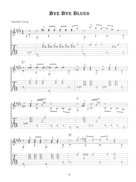 Preview Delta Blues Guitar By Stefan Grossman (MB 99467BCD) - Sheet