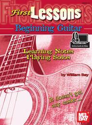First Lessons Beginning Guitar (Book/CD)