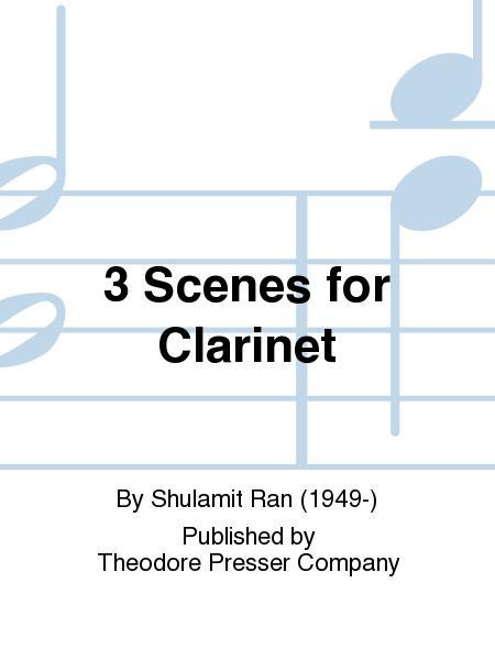 3 Scenes For Clarinet