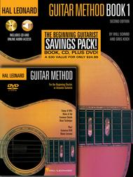 Hal Leonard Guitar Method Beginner's Pack