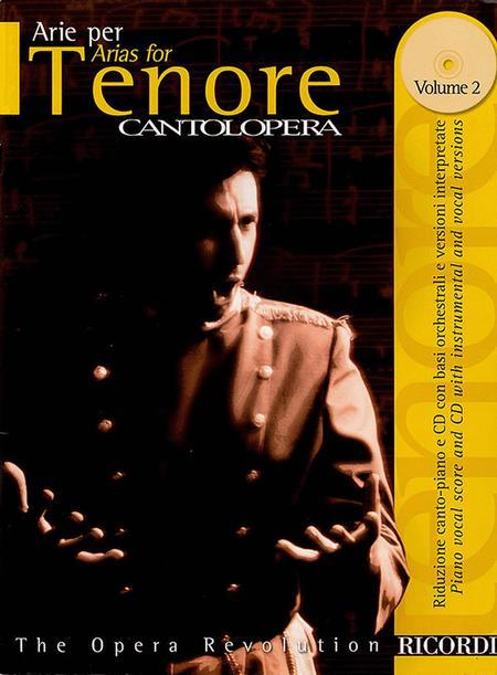 Cantolopera: Arias for Tenor - Volume 2