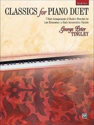 Classics for Piano Duet, Book 1