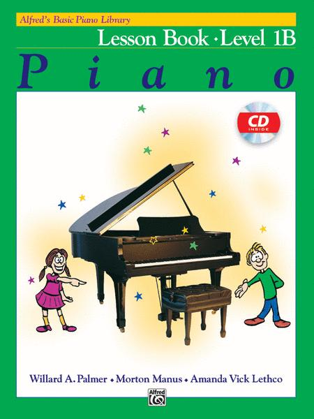 Alfred's Basic Piano Course - Lesson Book & CD Level 1B