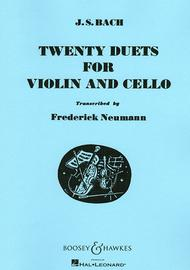 Twenty Duets for Violin and Cello