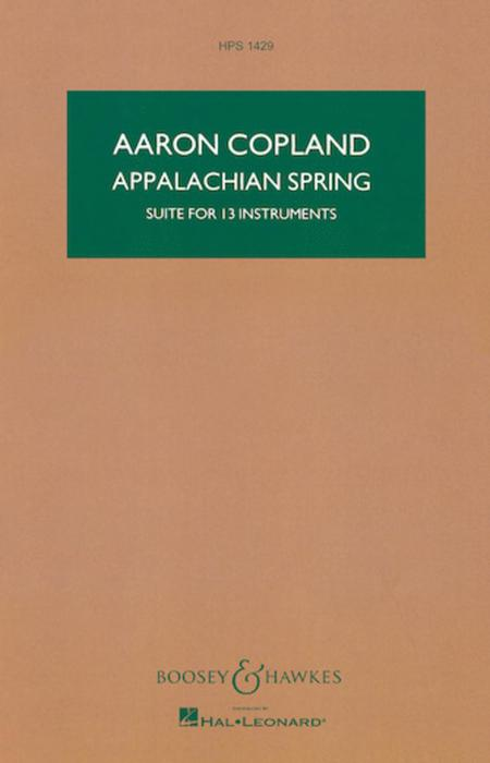 Appalachian Spring (Suite for 13 instruments)
