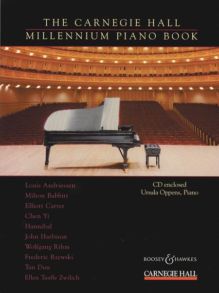 The Carnegie Hall Millennium Piano Book