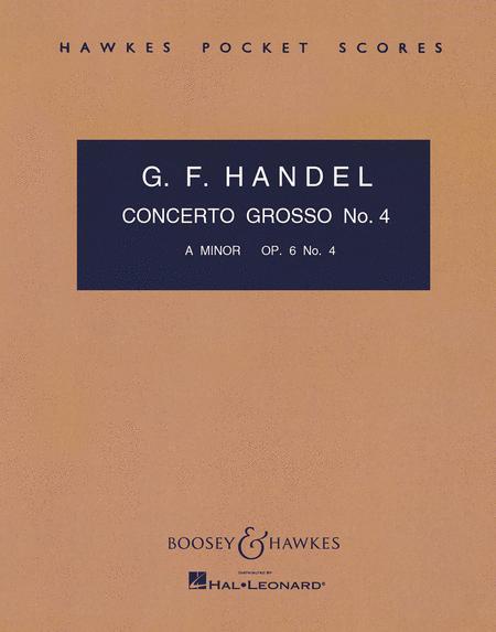 Concerto Grosso, Op. 6, No. 4
