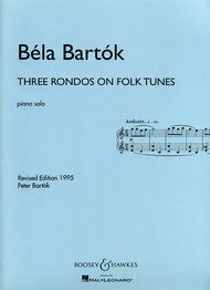 Three Rondos on Folk Tunes