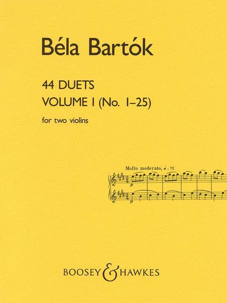 44 Duets - Volume I (No. 1-25)