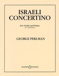 Israeli Concertino