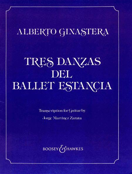 Tres Danzas del Ballet Estancia