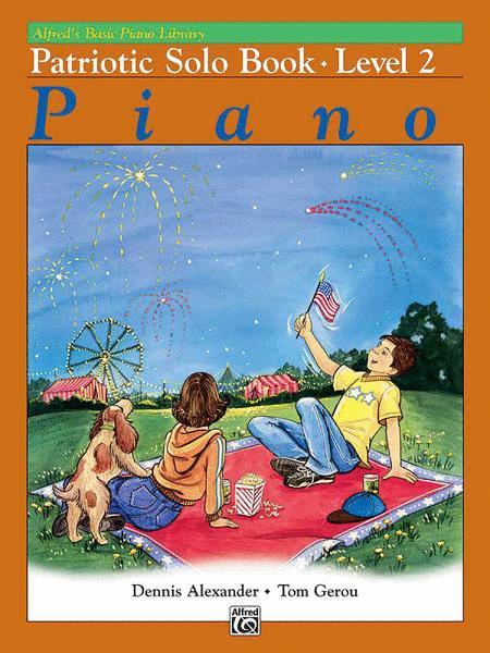 Alfred's Basic Piano Library Patriotic Solo Book, Book 2