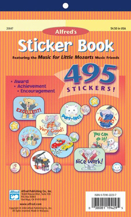 Music for Little Mozarts Sticker Book