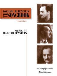 The Marc Blitzstein Songbook - Volume 2