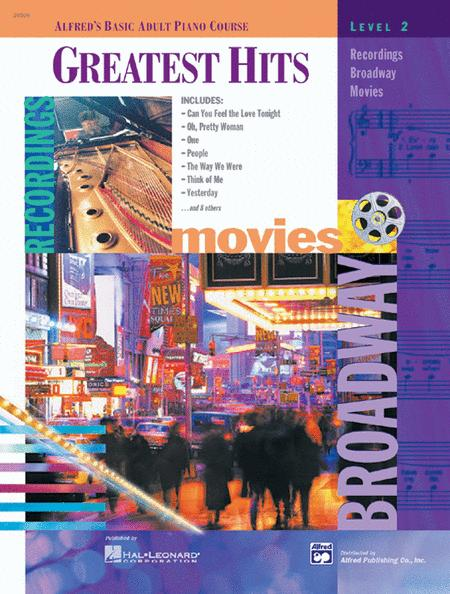 Alfred's Basic Adult Piano Course Greatest Hits, Book 2