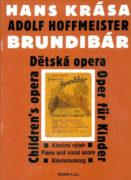 Brundibar (1938/43) Opera For Children [cz/g/e] Voc Sc