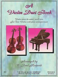 A Violin Duet Book