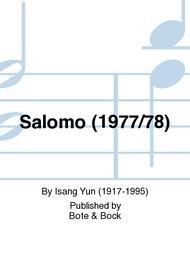 Salomo (1977/78)