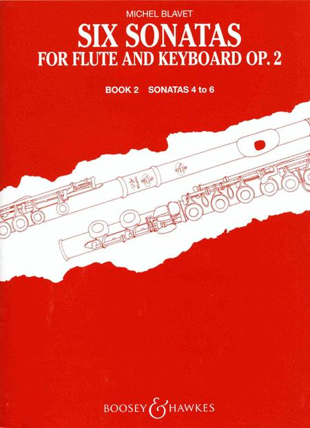 Six Sonatas for Flute and Keyboard, Op. 2