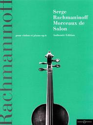 Morceaux de Salon, Op. 6
