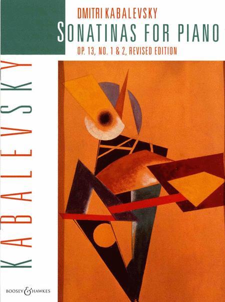 Sonatinas for Piano, Op. 13, Nos. 1 & 2
