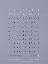 Mikrokosmos - Volume 1 (Blue)
