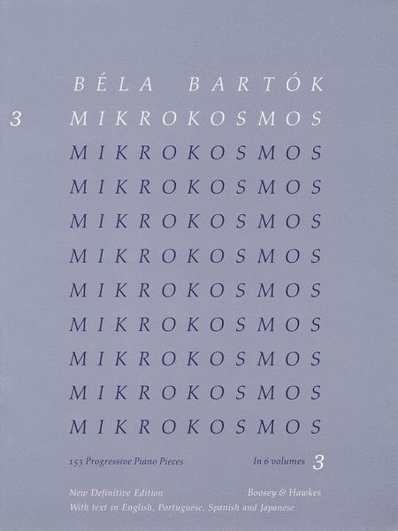 Mikrokosmos - Volume 3 (Blue)