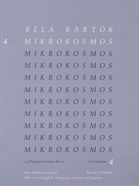 Mikrokosmos - Volume 4 (Blue)