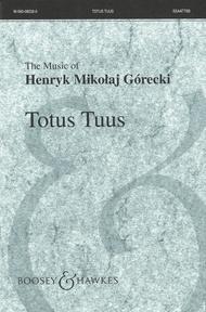 Totus Tuus, Op. 60