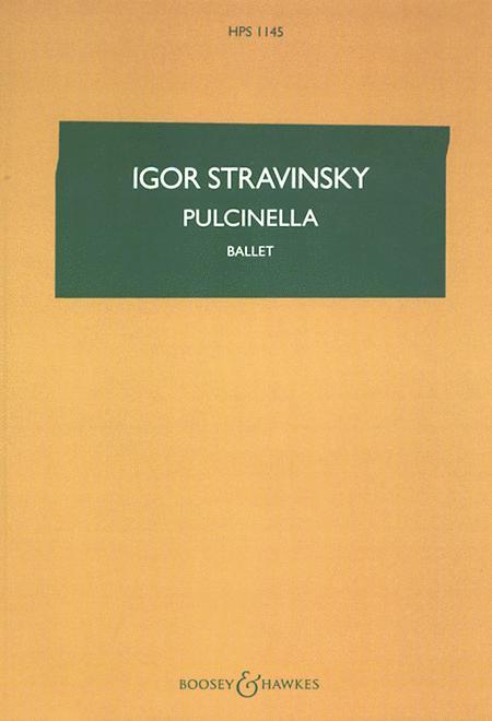 Pulcinella (Complete Ballet)