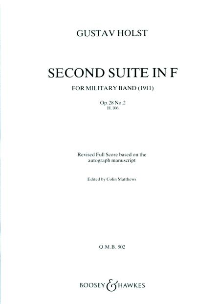 Second Suite in F (Revised)