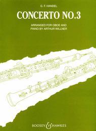 Concerto No. 3 in G minor