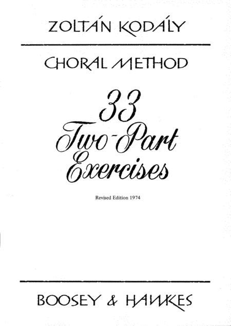 33 2-part Exercises