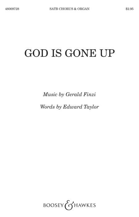 God is gone up