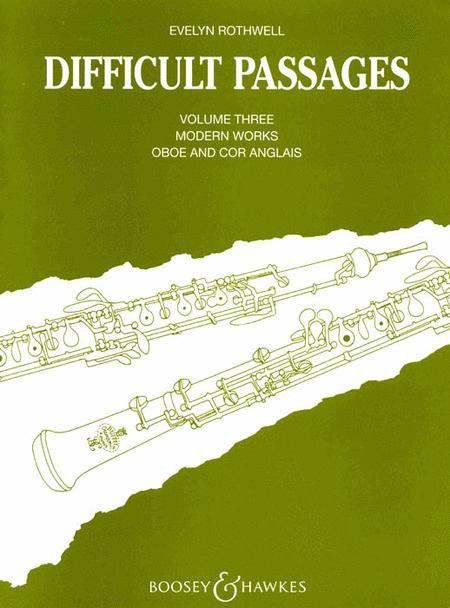 Difficult Passages - Volume 3