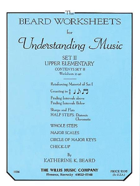 The Beard Worksheets for Understanding Music - Set Two