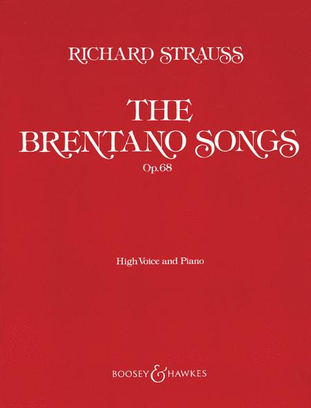 The Brentano Songs, Op. 68