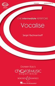 Vocalise Op. 34, No. 14