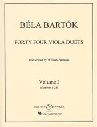 44 Duets - Volume 1 (Nos. 1-25)