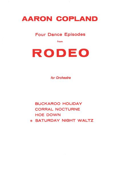 Saturday Night Waltz (from Rodeo)