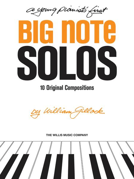 A Young Pianist's First Big Note Solos