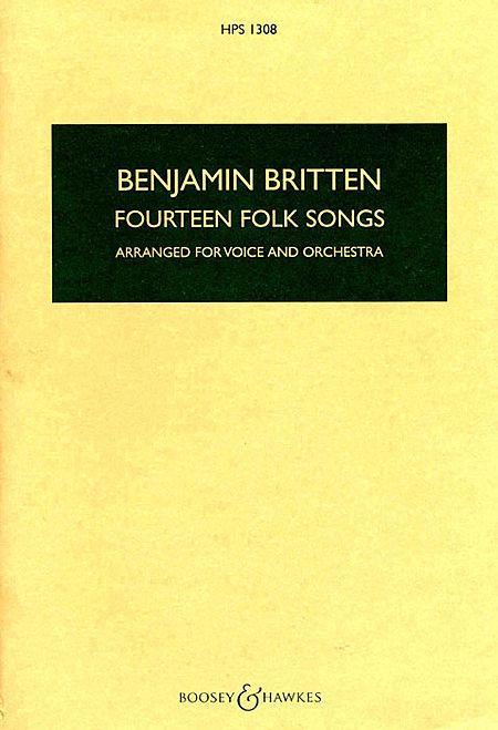 Fourteen Folk Songs
